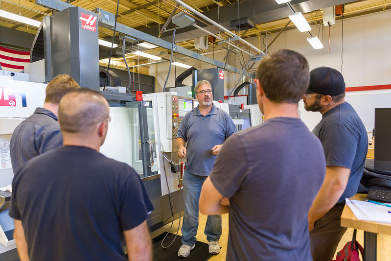 CNC Students at Sierra College